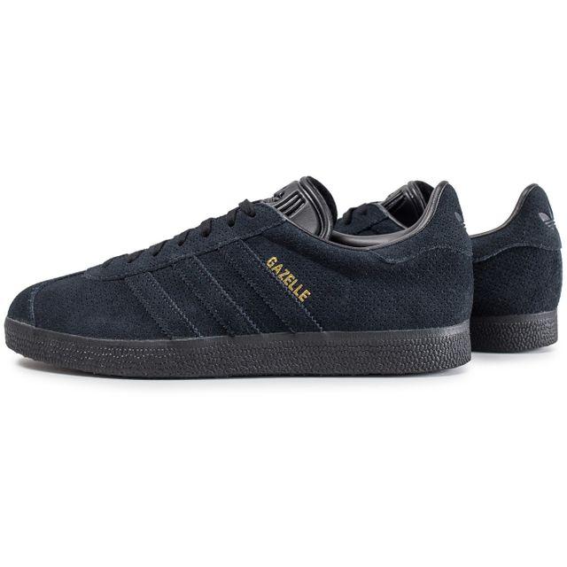Adidas Gazelle Core Noir Et Or pas cher Achat Vente