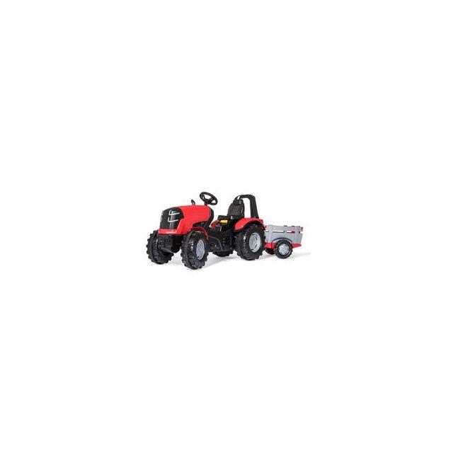 Rolly Toys Tracteur à pédales Rolly X Premium Rouge