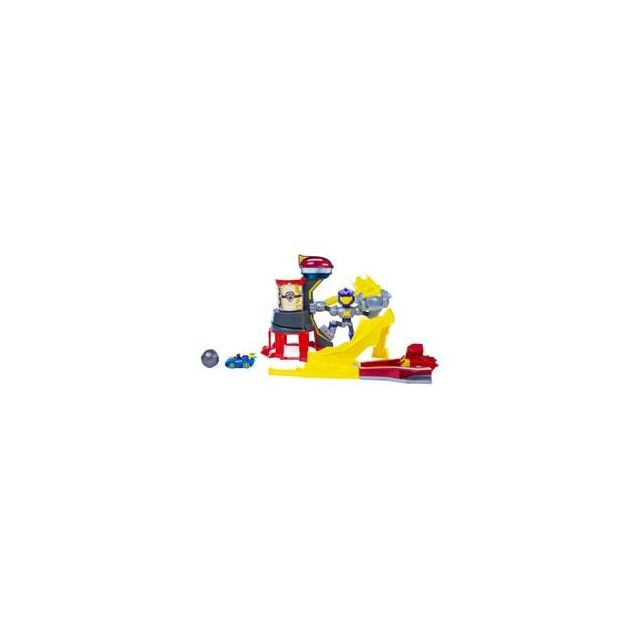 Spin Master Playset Meteor Track Set Mighty Pups Charged Up Pat'Patrouille