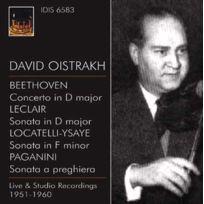 Istituto Discografico Italiano - David Oistrakh | Ludwig Van Beethoven | Jean Marie Leclair | Niccolo Paganini - Concerto pour violon | Sonate en fa mineur pour violon | Sonate a preghiera