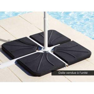 hesp ride dalle b ton pour parasol d centr 25 kg pas. Black Bedroom Furniture Sets. Home Design Ideas