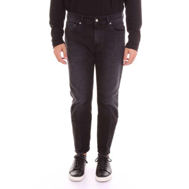 Covert Homme Im8028IJ006BLACK Noir Coton Jeans
