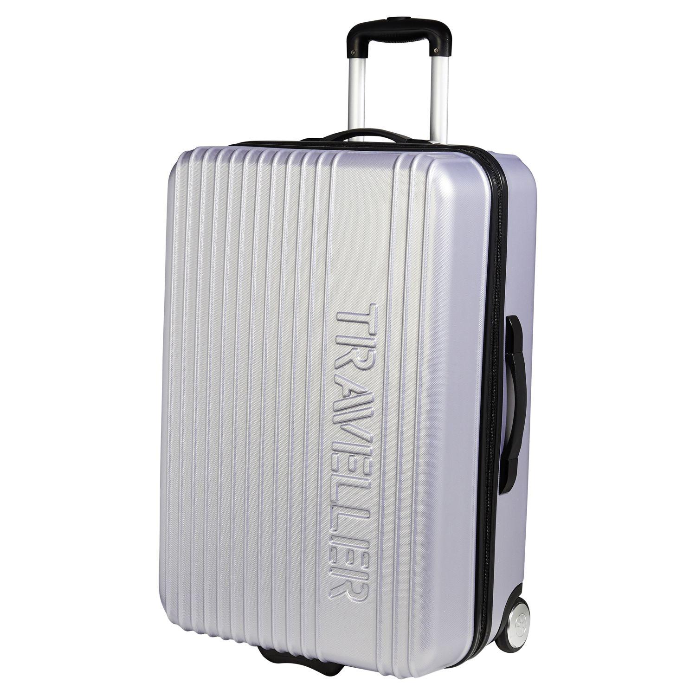 valise carrefour 4 roues ... CARREFOUR- Valise rigide Traveller ABS 2 roues - 71 cm - Gris
