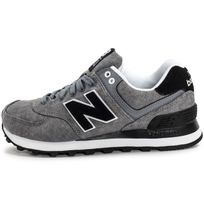 new balance grise homme