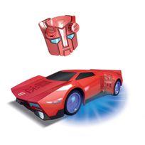 Majorette - Voiture radiocommandée Transformers : Sideswipe 1/24