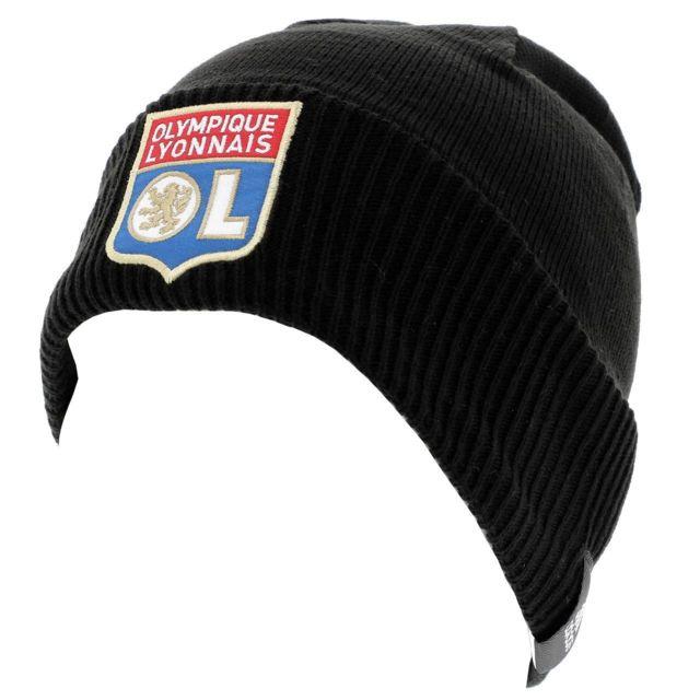 fournir un grand choix de achat le plus récent grande remise Bonnet classique Lyon bonnet ol 2018/19 Noir 36043