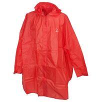 Element Terre - Poncho cape de pluie Elementerre Pelerin rouge poncho Rouge 41405