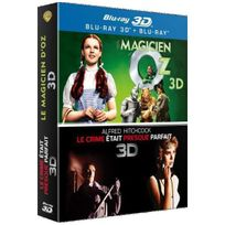 Générique - Le magicien d'Oz - Le crime était presque parfait Coffret Combo Blu-Ray 3D