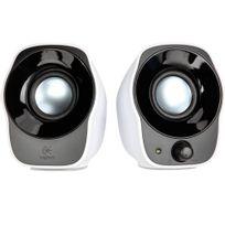 LOGITECH - Haut-parleur 2.0 Z120 - 980-000513 - Noir et Blanc