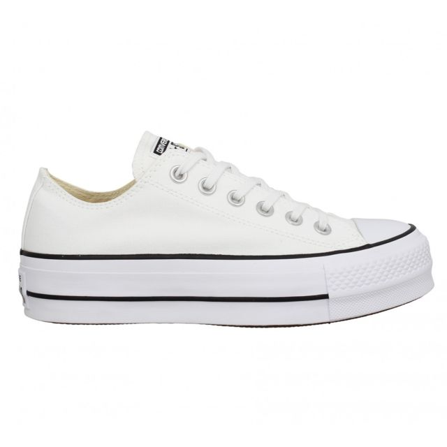 CONVERSE Chuck Taylor All Star Lift toile Femme Egret