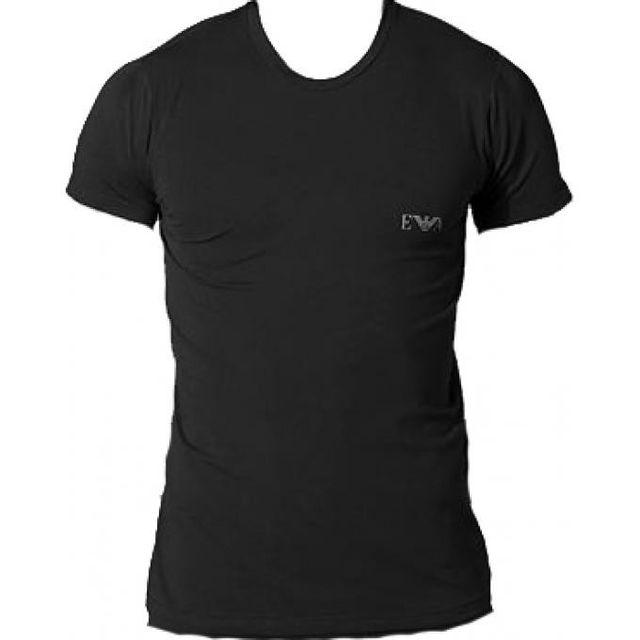 Armani - T-shirt Soft Classique - Homme Tendance Blanc, Noir - XL