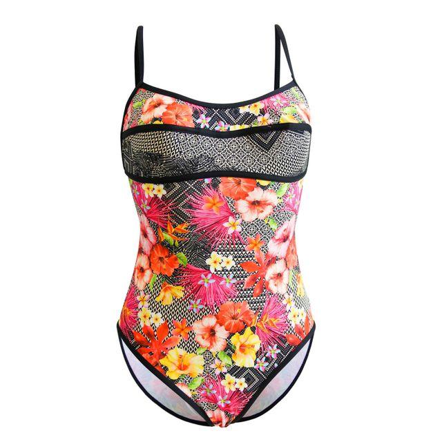 14382da63a Sunplaya - Maillot de bain 1 Pièce Style Sun Playa Azalea Multicolore
