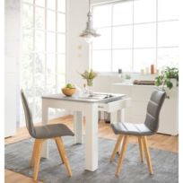 Table carree 8 personnes catalogue 2019 rueducommerce Table a manger carrefour