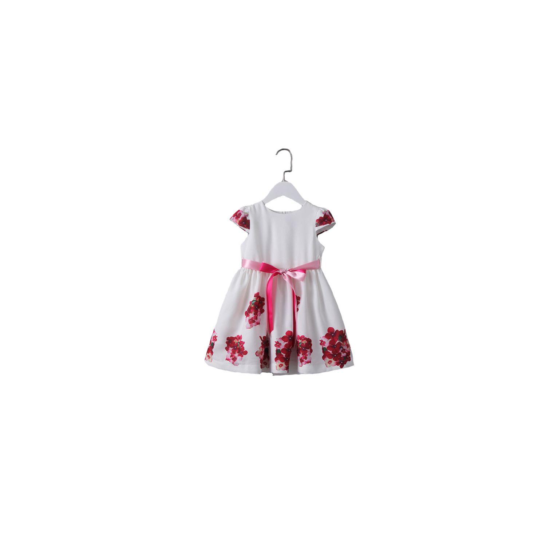 GLAREOLA- Robe imprimée fleurie pour enfants 9388eeaee1f