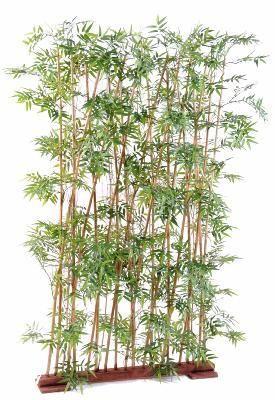 artificielflower haie artificielle bambou oriental 20 cannes int rieur h 185cm vert pas. Black Bedroom Furniture Sets. Home Design Ideas
