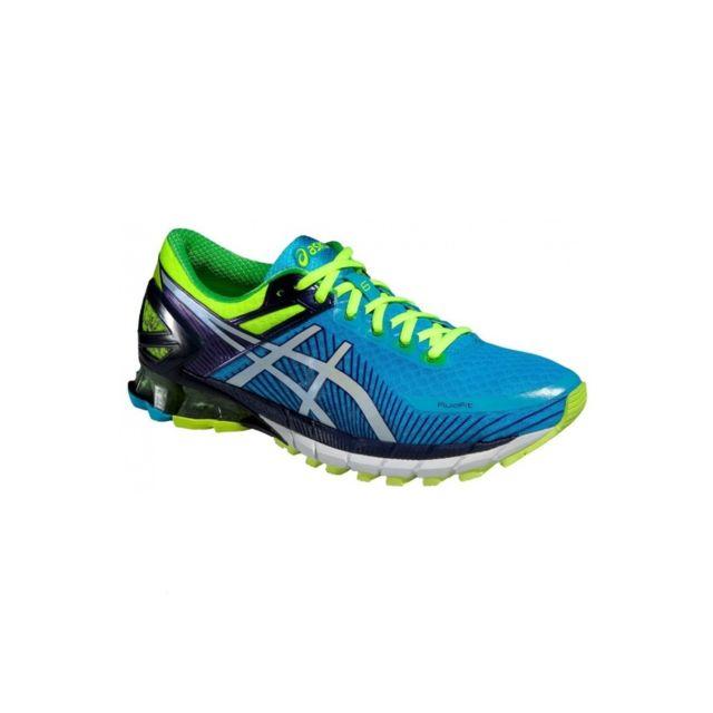 Asics - Chaussure de running Gel Kinsei 6 - T642N-4201 - pas cher Achat    Vente Chaussures running - RueDuCommerce d5b902a05786