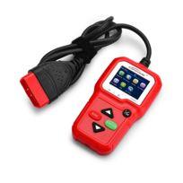 Wewoo - Lecteur de Code Prise outil de diagnostic rouge Outils d'analyse diagnostique automatique de voiture de Kw680 mini Obdii de balayage d'adaptateur de peut détecter la batterie et la tension, détectent seulement la de l'essence 12V