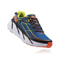 Hoka One One - Clifton 3 Bleue Et Orange Chaussures de running