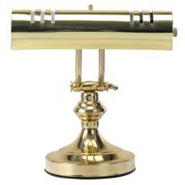 Classic Cantabile - L3-A lampe pour piano, 1 flamme, laiton