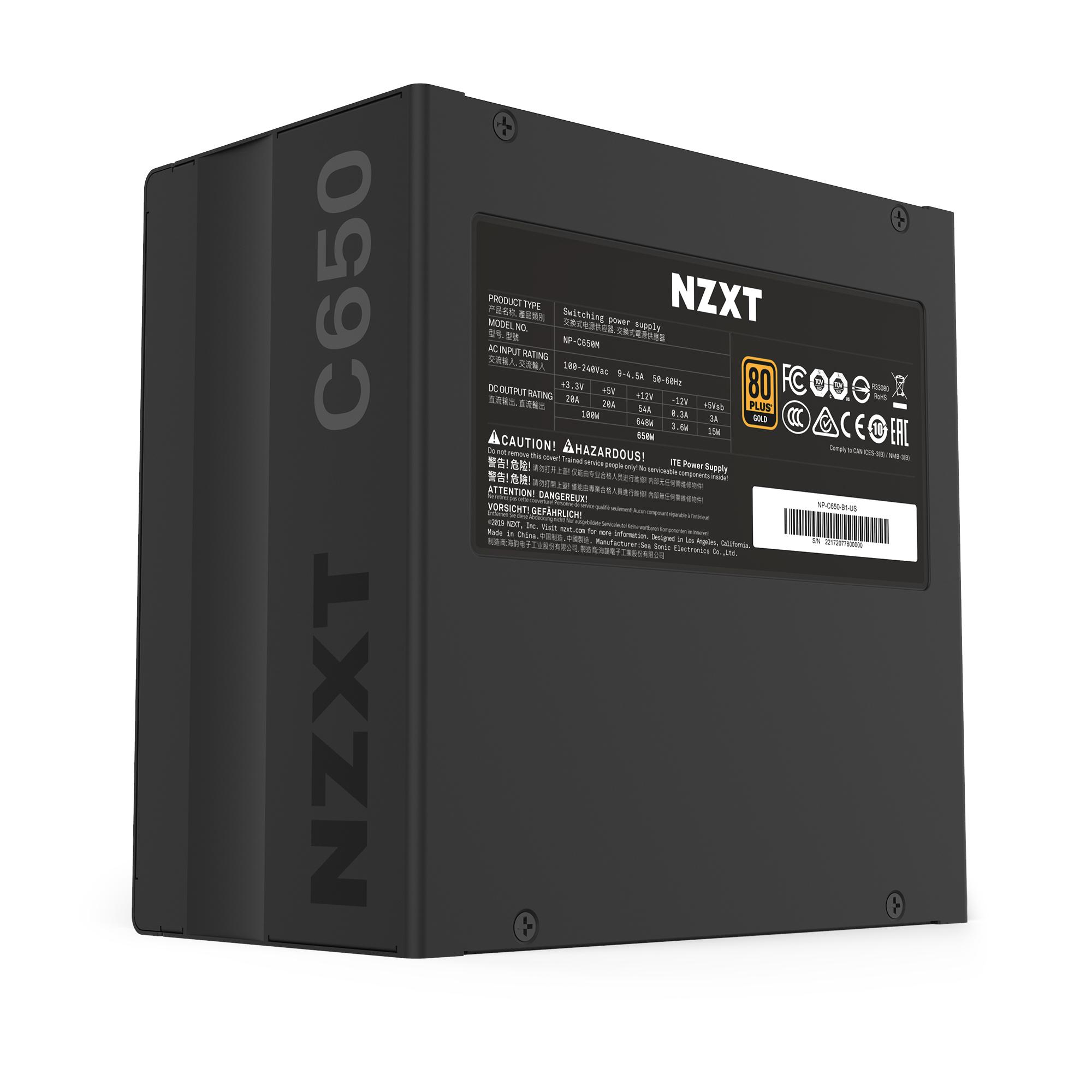 C650 650W - 80 Plus Gold