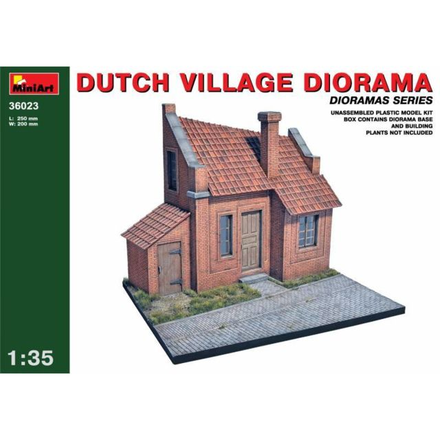 Mini Art Dutch Village Diorama - Décor Modélisme