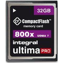 Integral - Carte mémoire compact flash Ultima Pro 800X - 32 Go