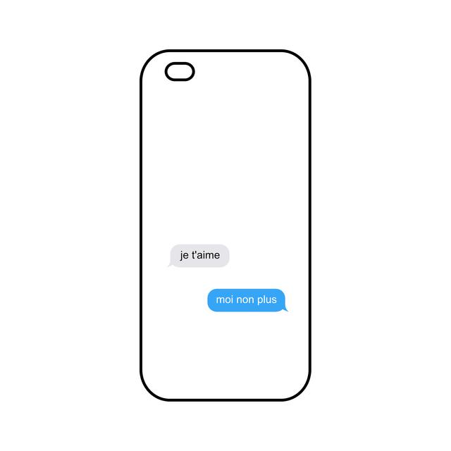 coque iphone 5 message