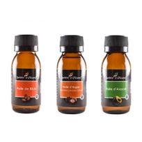 Tous - Lot 3 Huile Pure Ricin/Argan/Avocat 60 Ml