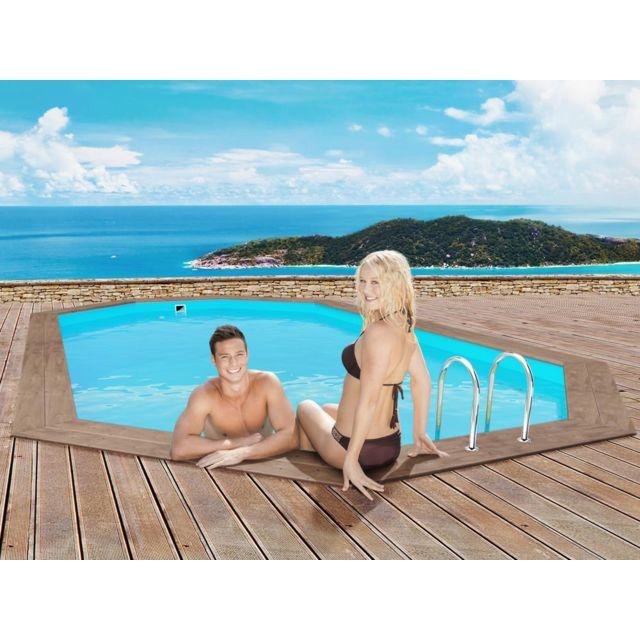 Soldes habitat et jardin piscine bois pas cher achat for Habitat et jardin piscine bois
