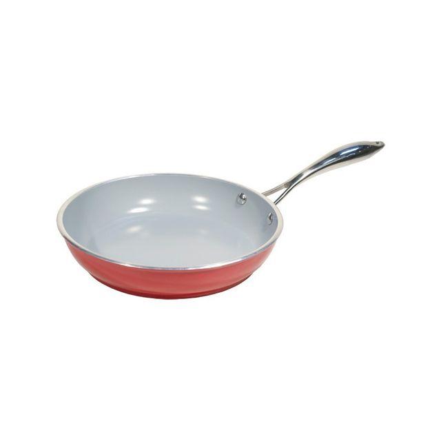 Tutti cuisine po le en c ramique cologique 24 cm pas for Poele cuisine ceramique
