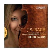 Analekta - Intégrale des Suites pour violoncelle version alto