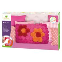 Au Sycomore - Coffret Lovely Box Xl : Coussin en pompons