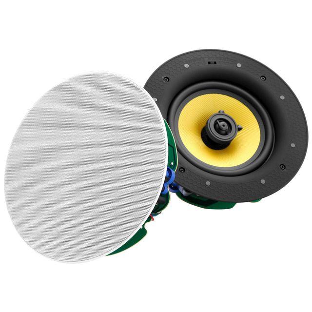 Pronomic CLS-880 WH haut-parleur /à monter /à 2 voies high end kevlar 320 Watt