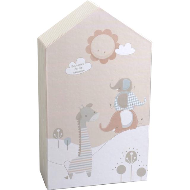amadeus les petits armoire souvenirs de naissance jungle pas cher achat vente objets d co. Black Bedroom Furniture Sets. Home Design Ideas