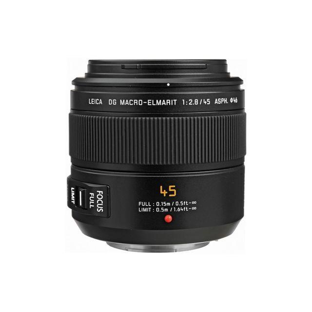 Panasonic Objectif Leica Dg Elmarit 45 mm f/2.8 Macro Mega Ois