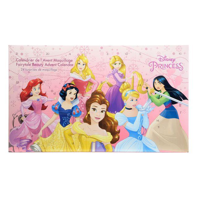 DISNEY PRINCESSES Calendrier de l'Avent de maquillage - 9705423 Ajoutez une touche de magie… avec le Calendrier de l'Avent des Princesses Disney !