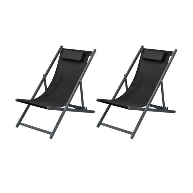 Lot Longue Noire 2 Chaise De Calvi wXn0OkP8