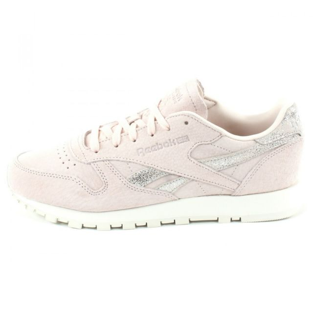 Reebok Classic Leather Shimmer Rose BS9865 | Wooddy