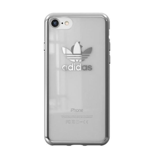 adidas coque originals clear logo iphone 7 gris