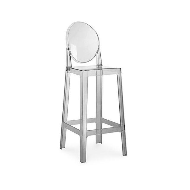 privatefloor tabouret de bar victoria ghost philippe starck 75cm pas cher achat vente. Black Bedroom Furniture Sets. Home Design Ideas