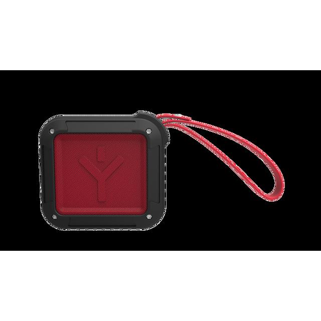 RYGHT AIRBOX-S - Red Vous êtes un mordu d'aventure ? L'enceinte sans fil Airbox-S est parfaite pour vous. Elle est capable de vous accompagner partout lors de vos randos. Elle est dotée d'une dragonne intégr&eac