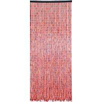 Morel - Rideau en batonnets de bambou et perles de bois