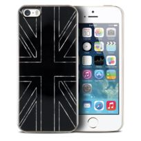 Qdos - Coque Housse Etui Smoothies Series, Metallics Uk Noir pour iPhone 5/5S/SE