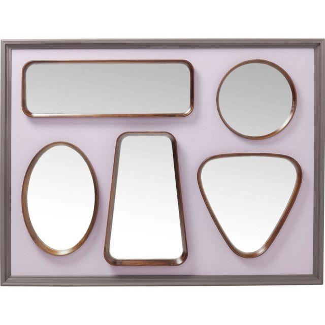 Karedesign Miroir Art Shapes 170x130cm Kare Design