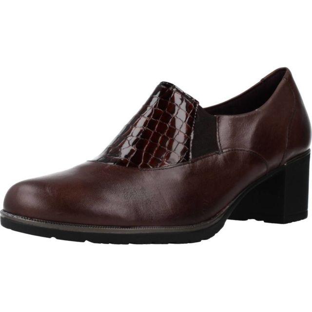 Pitillos Mocassins et chaussures bateau femme 5732P , Marron