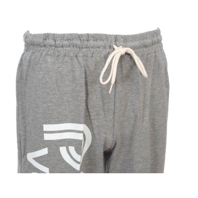 Panzeri - Pantalon de survêtement Uni h grc/blc jersey Gris 40346