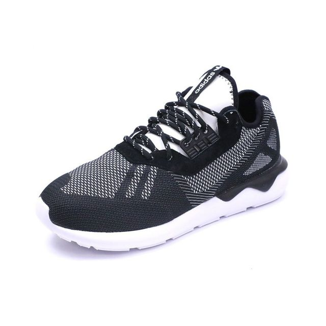 buy popular 2d5f5 03ff0 Adidas - Chaussures Tubular Runner Weave Noir Homme Adidas Noir 46 2 3