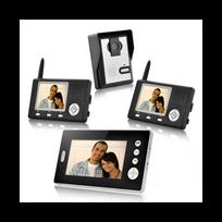 Auto-hightech - Interphone visiophone avec Triple Récepteurs 1/4 Cmos, vision nocturne sans fil
