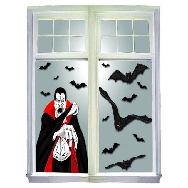 Marque Generique Décoration Halloween Vampire Et Chauve Souris