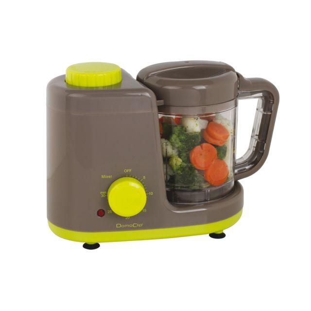 DOMOCLIP Robot mixeur cuiseur bébé 4 en 1 DOP174